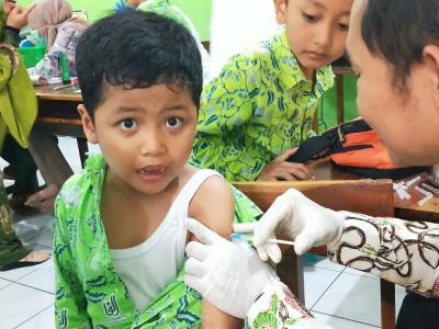 Imunisasi Campak Kelas 1